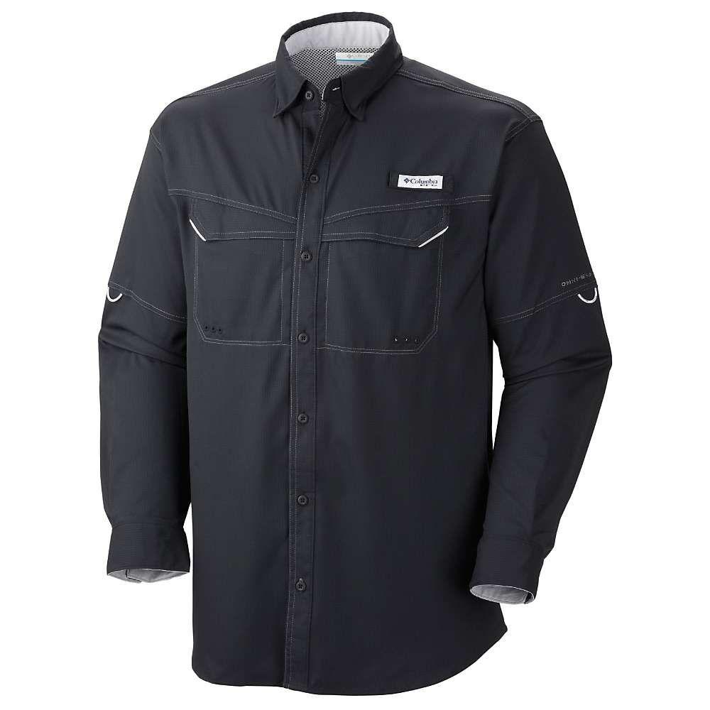 コロンビア Columbia メンズ 釣り・フィッシング トップス【low drag offshore ls shirt】Black