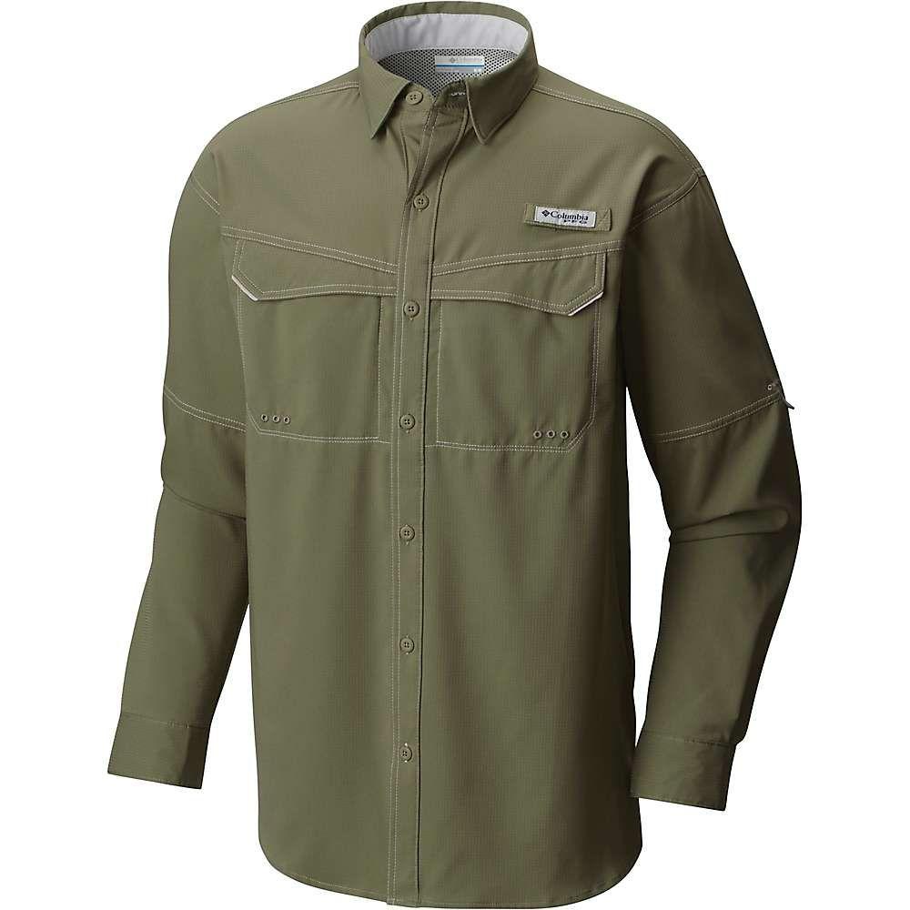 コロンビア Columbia メンズ 釣り・フィッシング トップス【low drag offshore ls shirt】Cypress