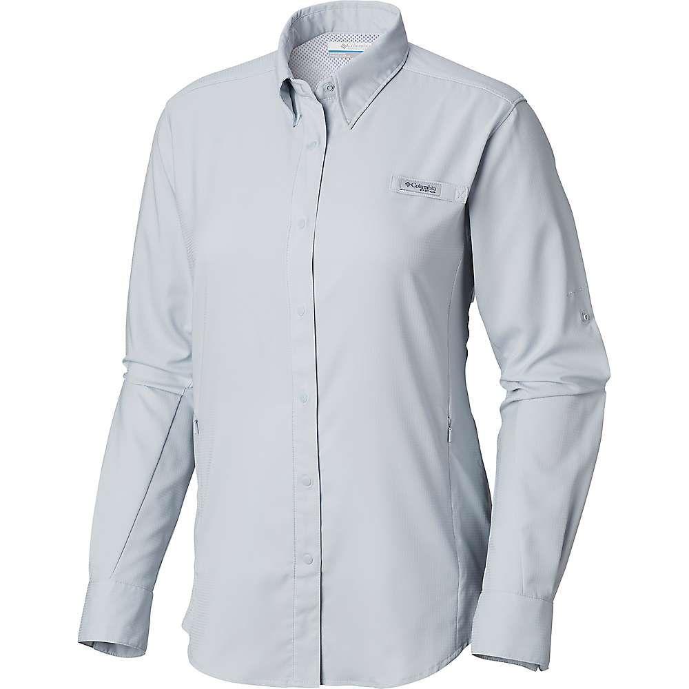 コロンビア Columbia レディース 釣り・フィッシング トップス【tamiami ii ls shirt】Cirrus Grey