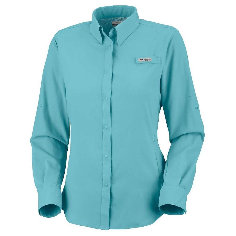 コロンビア Columbia レディース 釣り・フィッシング トップス【tamiami ii ls shirt】Clear Blue