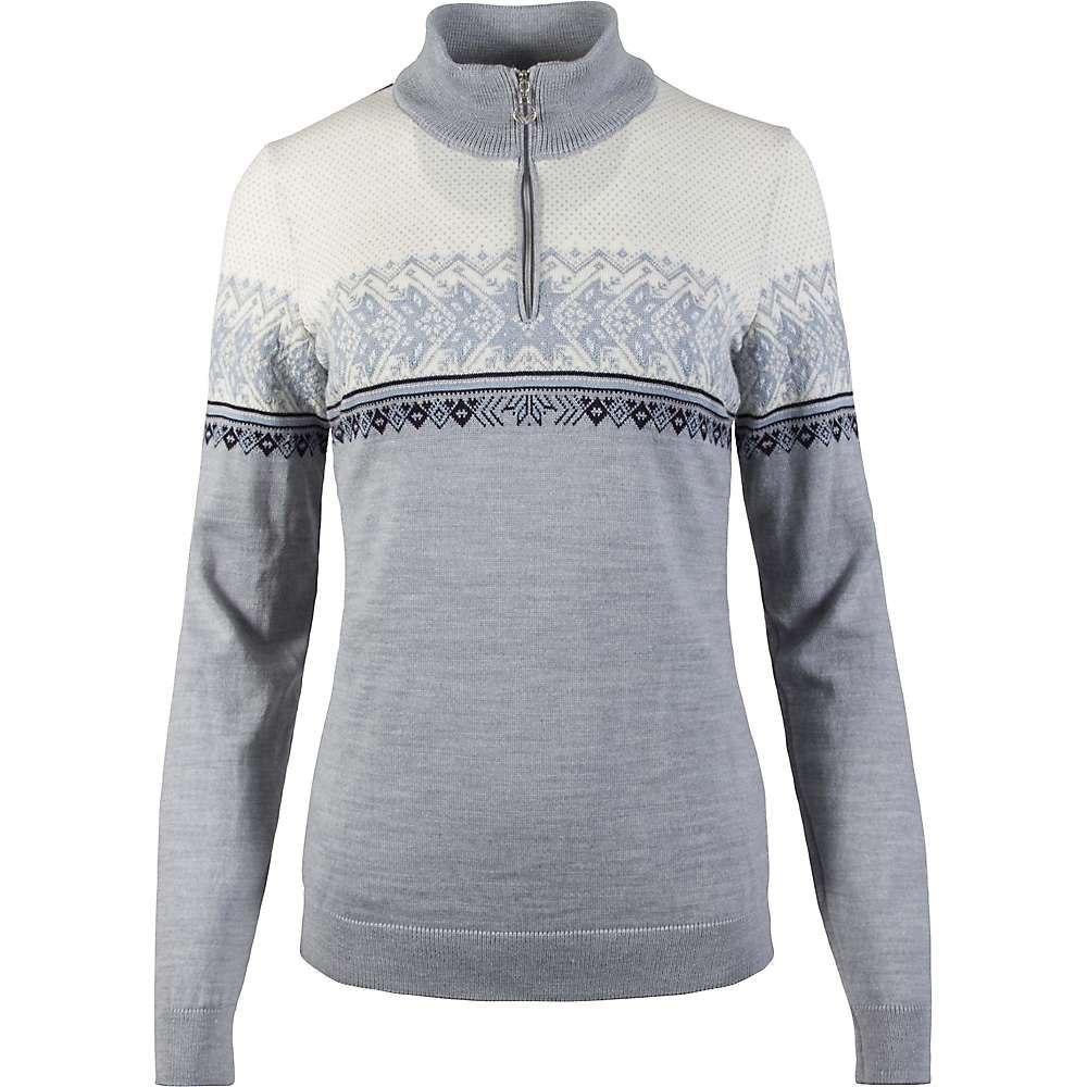 ダーレ オブ ノルウェイ Dale of Norway レディース ニット・セーター トップス【hovden feminine sweater】Grey/Ice Blue/Navy/Off White