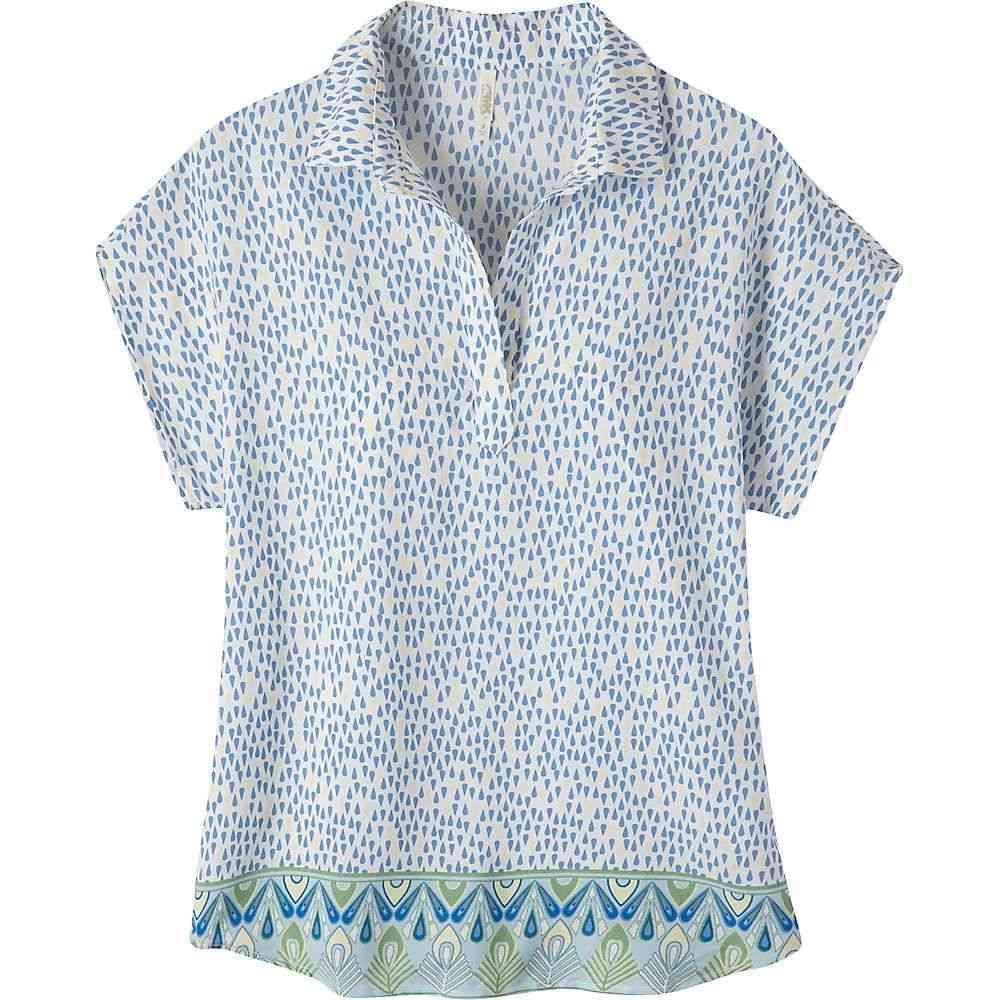 マウンテンカーキス Mountain Khakis レディース ブラウス・シャツ トップス【emma shirt】Linen Print