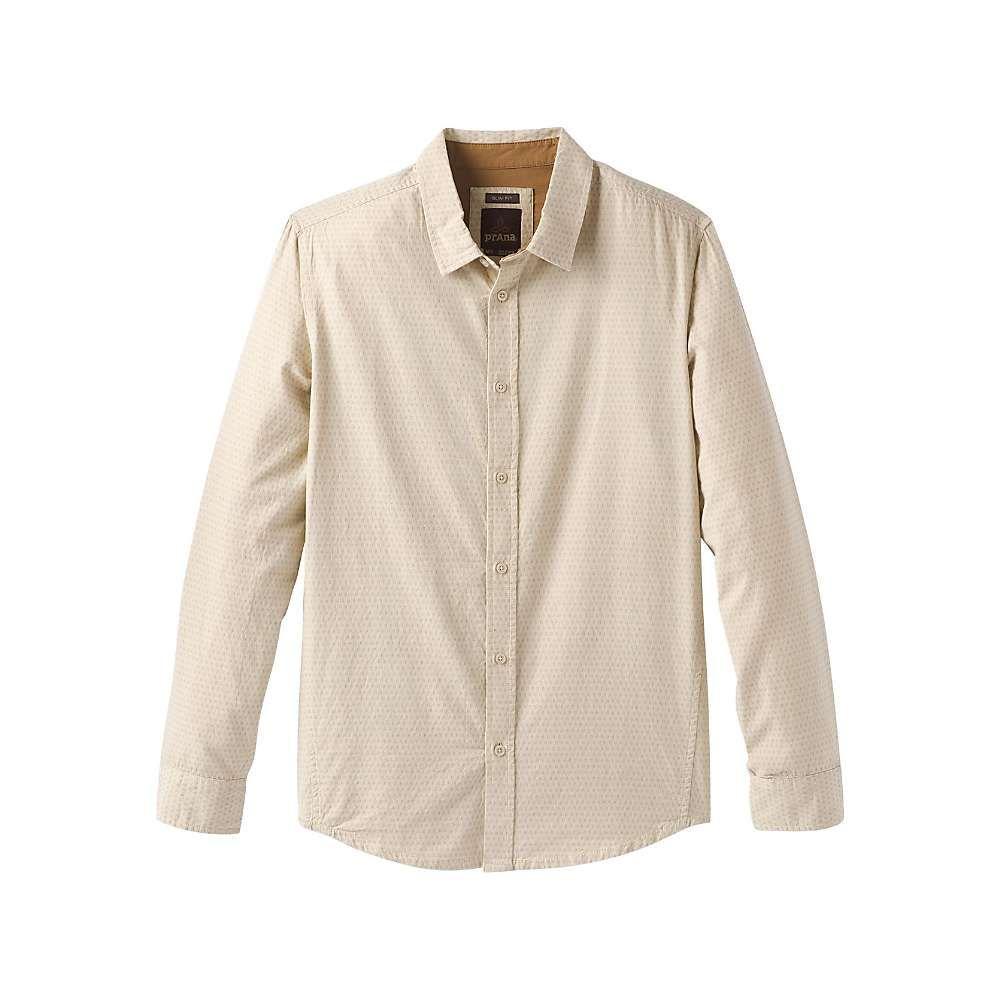 プラーナ Prana メンズ シャツ トップス【graden ls shirt】Stone