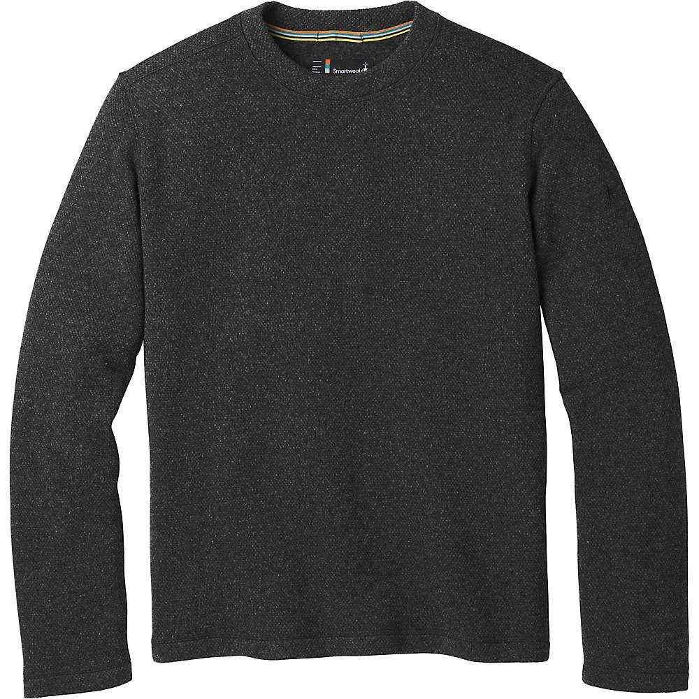 スマートウール Smartwool メンズ フリース トップス【hudson trail fleece crew sweater】Dark Charcoal