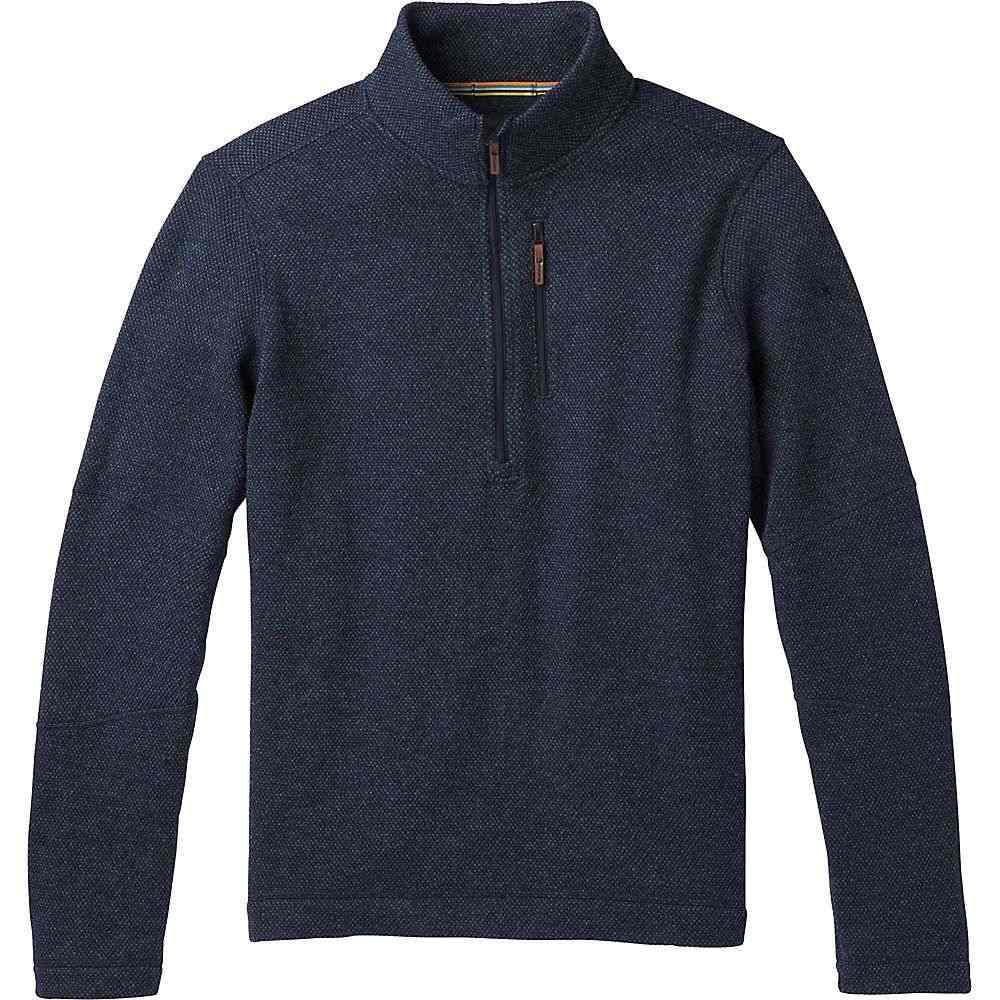 スマートウール Smartwool メンズ フリース トップス【hudson trail fleece half zip sweater】Navy