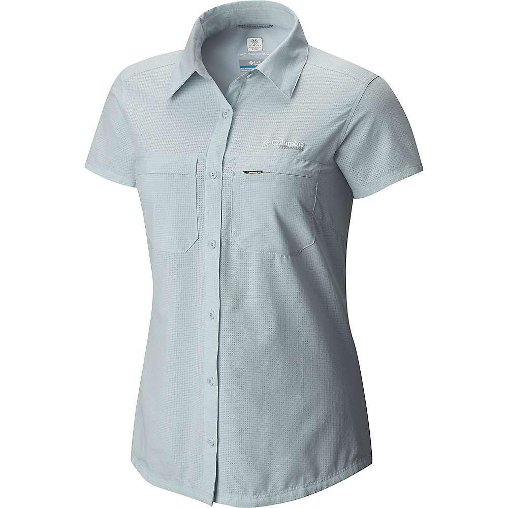コロンビア Columbia レディース ブラウス・シャツ トップス【irico ss shirt】Cirrus Grey Heather
