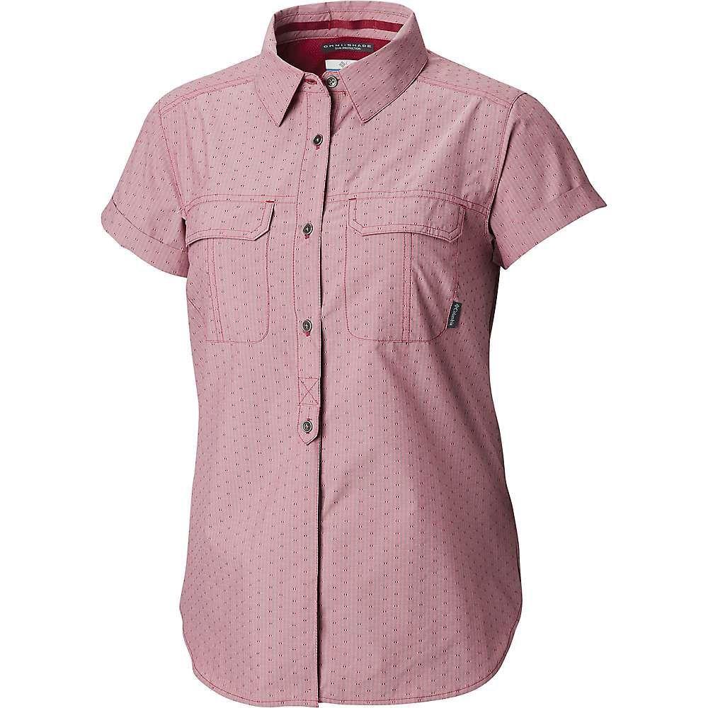 コロンビア Columbia レディース ブラウス・シャツ トップス【pilsner peak novelty ss shirt】Wine Berry Stripe