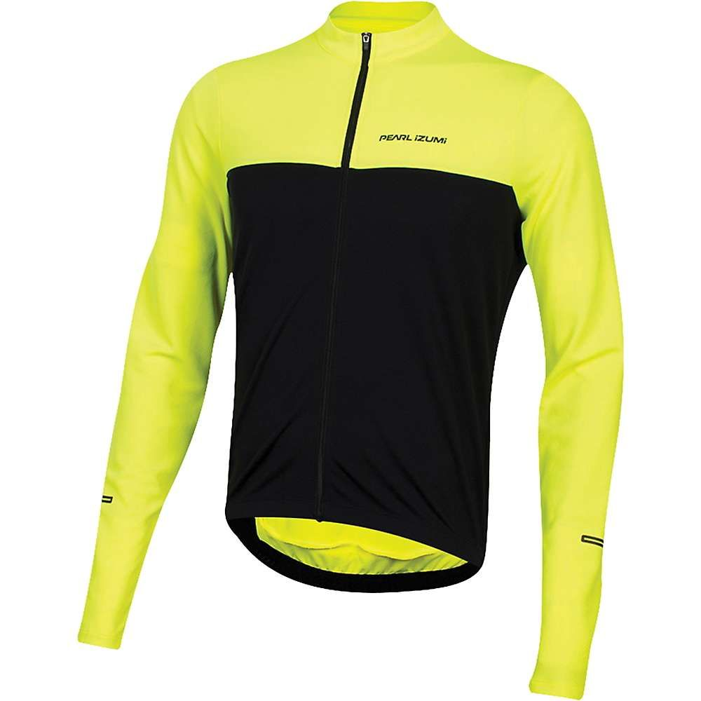 パールイズミ Pearl Izumi メンズ 自転車 トップス【quest ls jersey】Screaming Yellow/Black