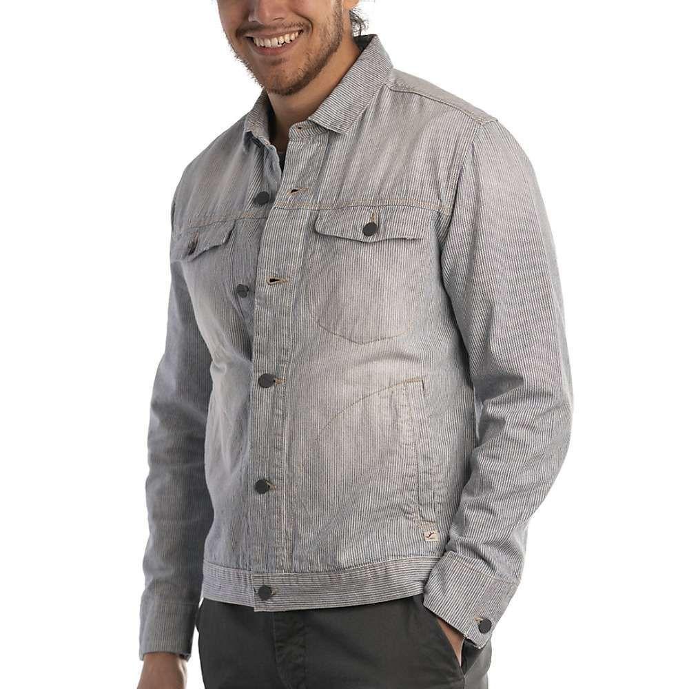 ジェレミア Jeremiah メンズ ジャケット デニム Gジャン シャツジャケット アウター【hildago stripe denim shirt jacket】Lakeside