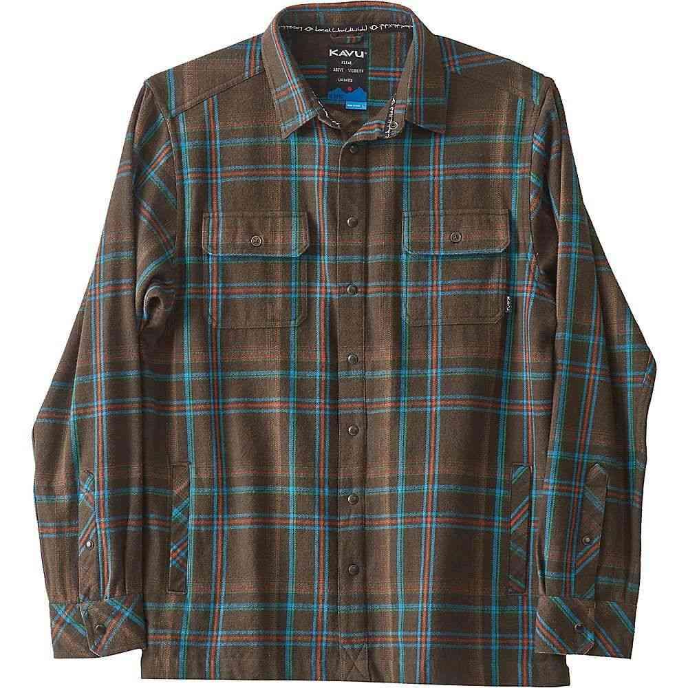 カブー Kavu メンズ ジャケット シャツジャケット アウター【northlake shirt jacket】Forest Grid