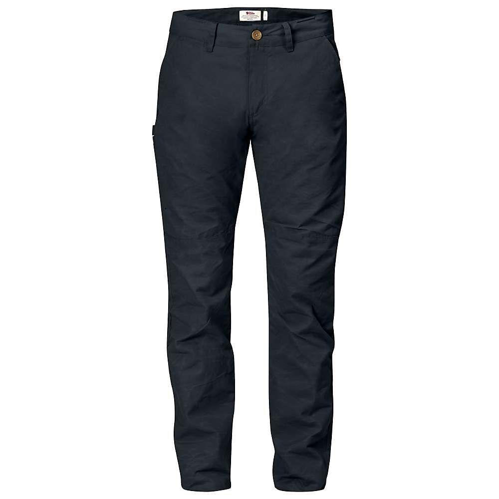 フェールラーベン Fjallraven メンズ ハイキング・登山 ボトムス・パンツ【sormland tapered trouser】Dark Navy