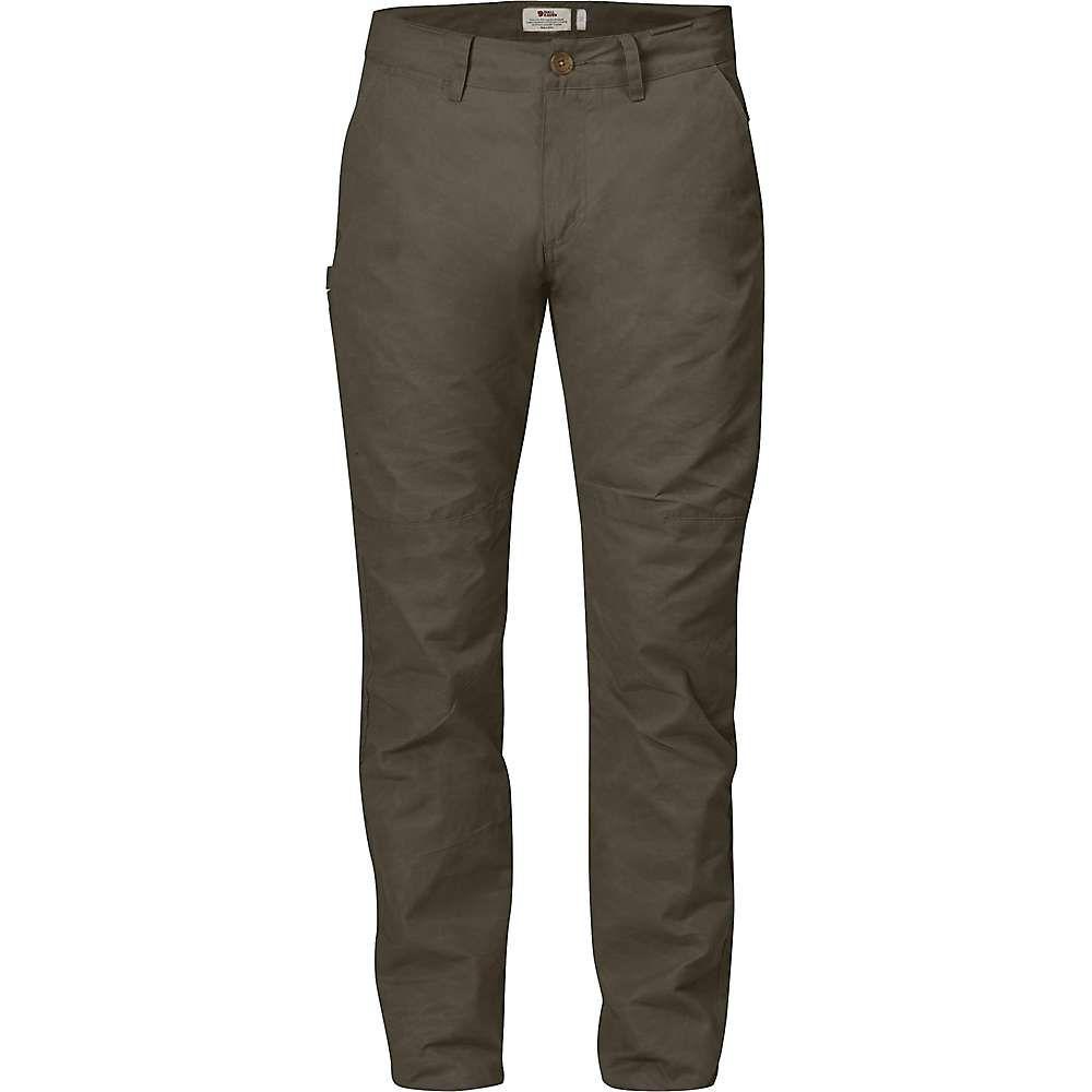フェールラーベン Fjallraven メンズ ハイキング・登山 ボトムス・パンツ【sormland tapered trouser】Tarmac