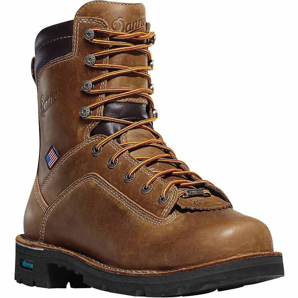 ダナー Danner メンズ ブーツ シューズ・靴【quarry usa 8in nmt 400g insulated gtx boot】Distressed Brown