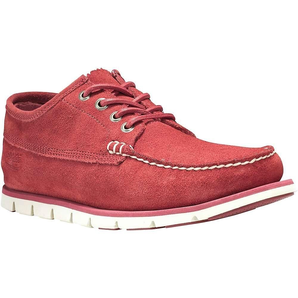 ティンバーランド Timberland メンズ スリッポン・フラット シューズ・靴【tidelands ranger suede moc shoe】Medium Red Suede