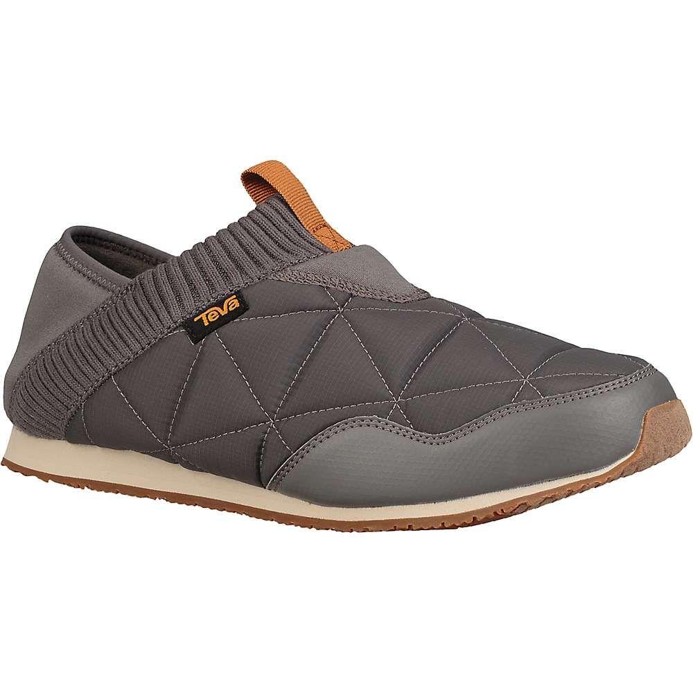 テバ メンズ シューズ・靴 スリッポン・フラット Charcoal Grey 【サイズ交換無料】 テバ Teva メンズ スリッポン・フラット シューズ・靴【ember moc shoe】Charcoal Grey