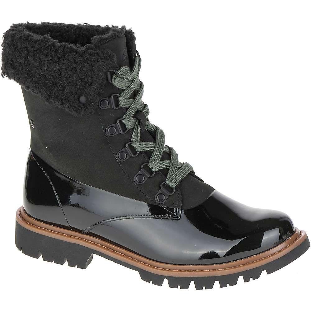キャットフットウェア Cat Footwear レディース ハイキング・登山 ブーツ シューズ・靴【hub hiker fur boot】Black