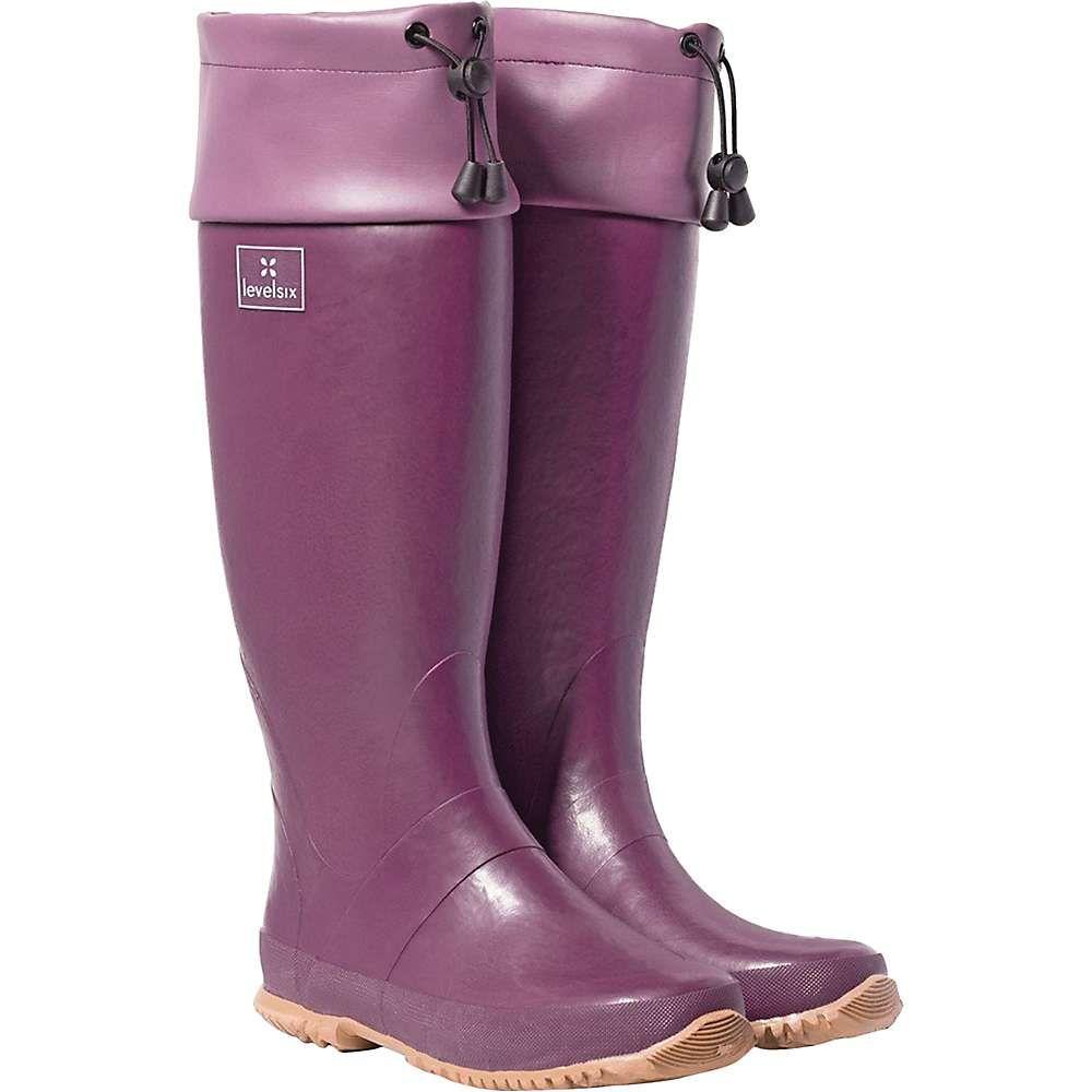 レベルシックス Level Six レディース ブーツ シューズ・靴【shoreline boot】Charcoal