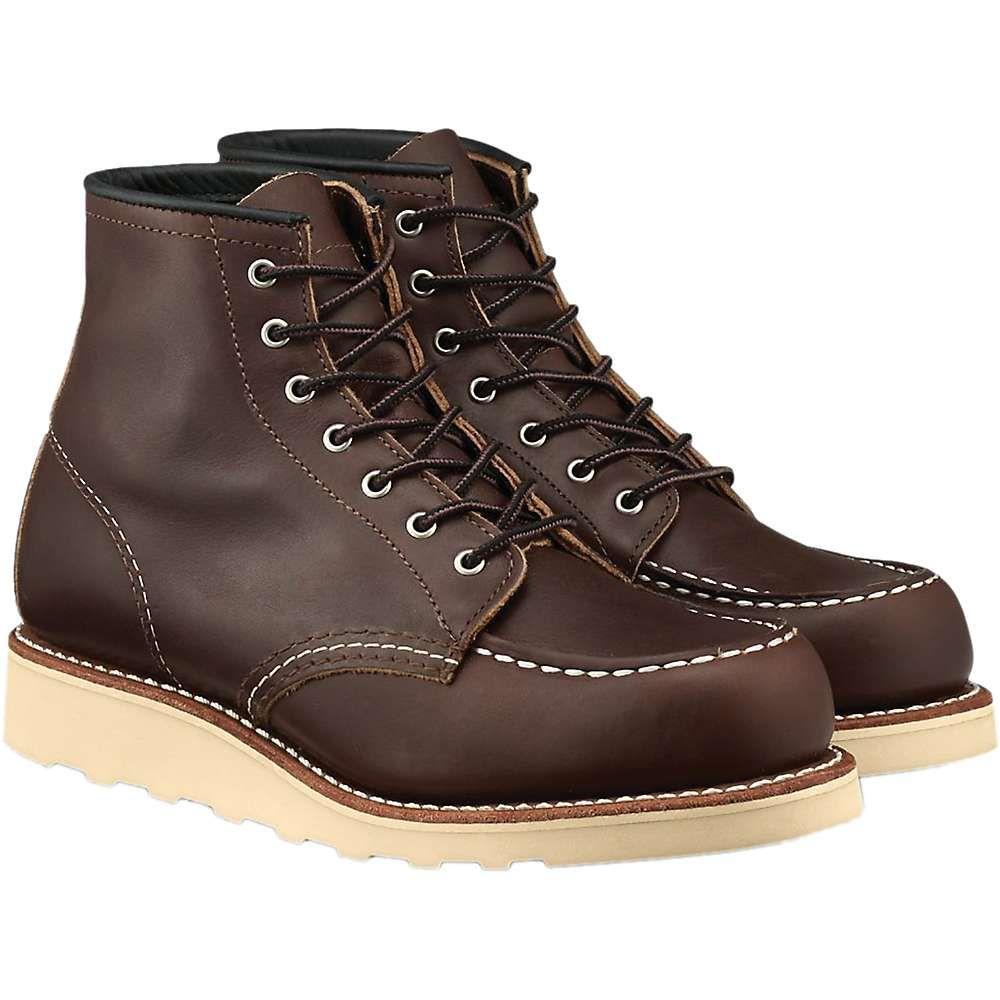 レッドウィング Red Wing Shoes レディース ブーツ シューズ・靴【red wing heritage 3371 6-inch classic moc boot】Mahogony Oro-Iginal