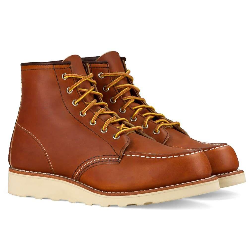 レッドウィング Red Wing Shoes レディース ブーツ シューズ・靴【red wing heritage 3375 6-inch classic moc boot】Oro Legacy