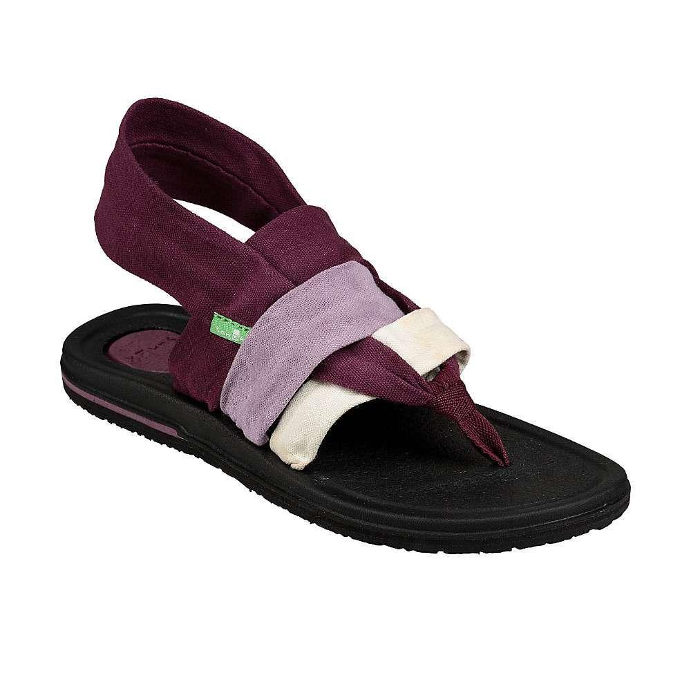 サヌーク Sanuk レディース ヨガ・ピラティス シューズ・靴【yoga sling 3 sandal】Gradient Prune