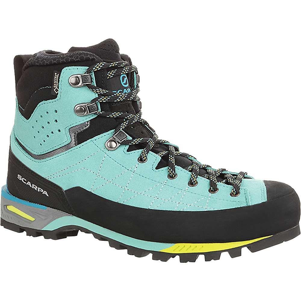 スカルパ Scarpa レディース ハイキング・登山 ブーツ シューズ・靴【zodiac tech gtx boot】Green Blue