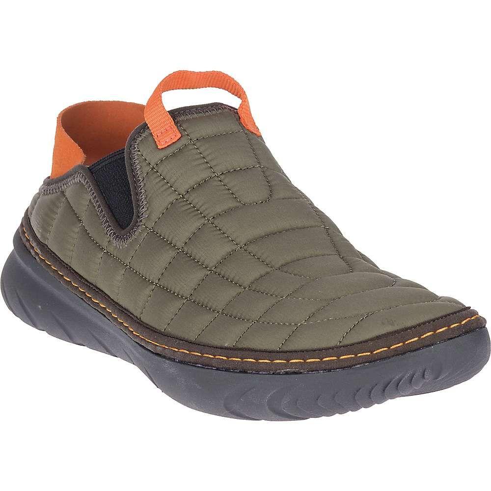 メレル メンズ シューズ・靴 スリッポン・フラット Olive 【サイズ交換無料】 メレル Merrell メンズ スリッポン・フラット シューズ・靴【hut moc shoe】Olive