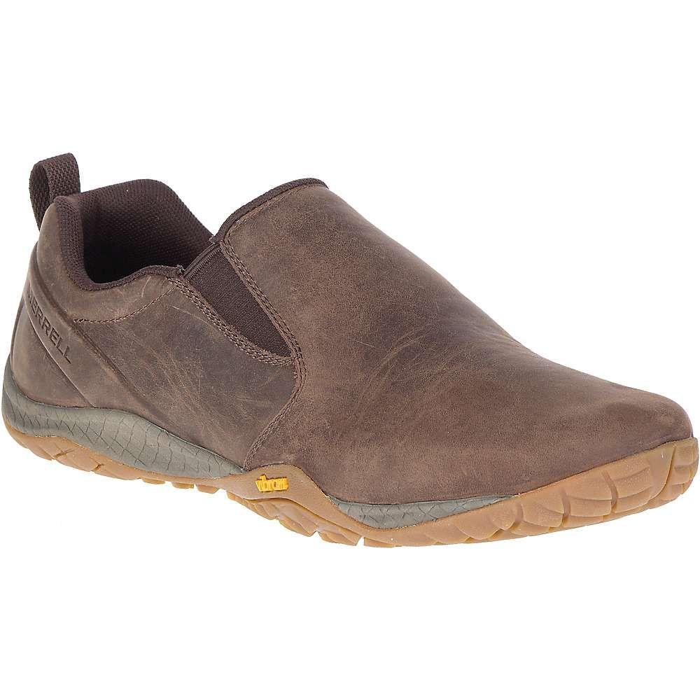 メレル Merrell メンズ スリッポン・フラット シューズ・靴【trail glove 4 luna slip on shoe】Espresso