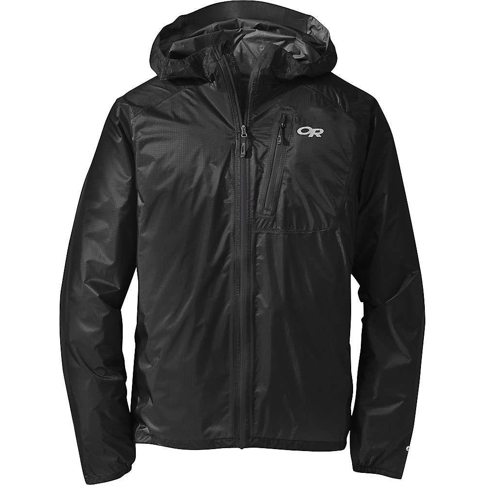 アウトドアリサーチ Outdoor Research メンズ レインコート アウター【helium ii jacket】Black/Storm