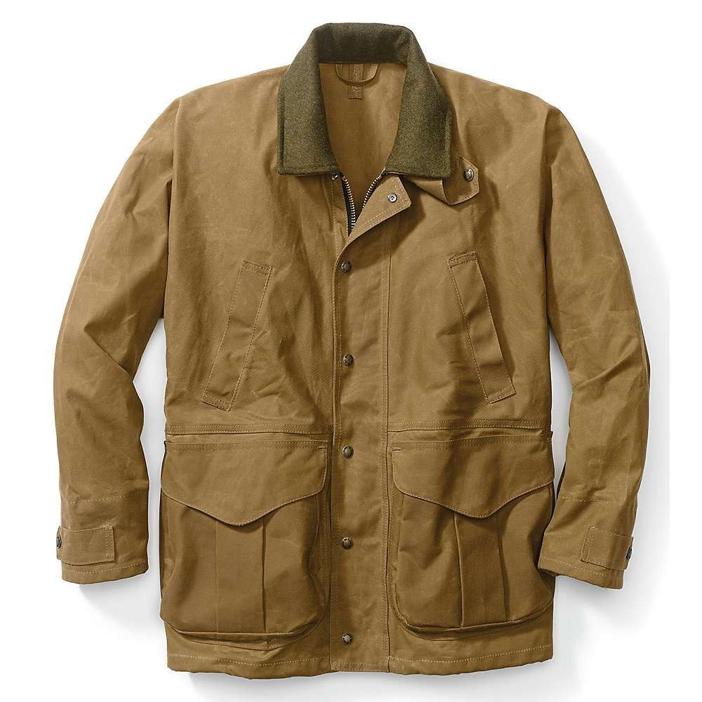 フィルソン Filson メンズ ジャケット アウター【tin cloth field jacket】Dark Tan
