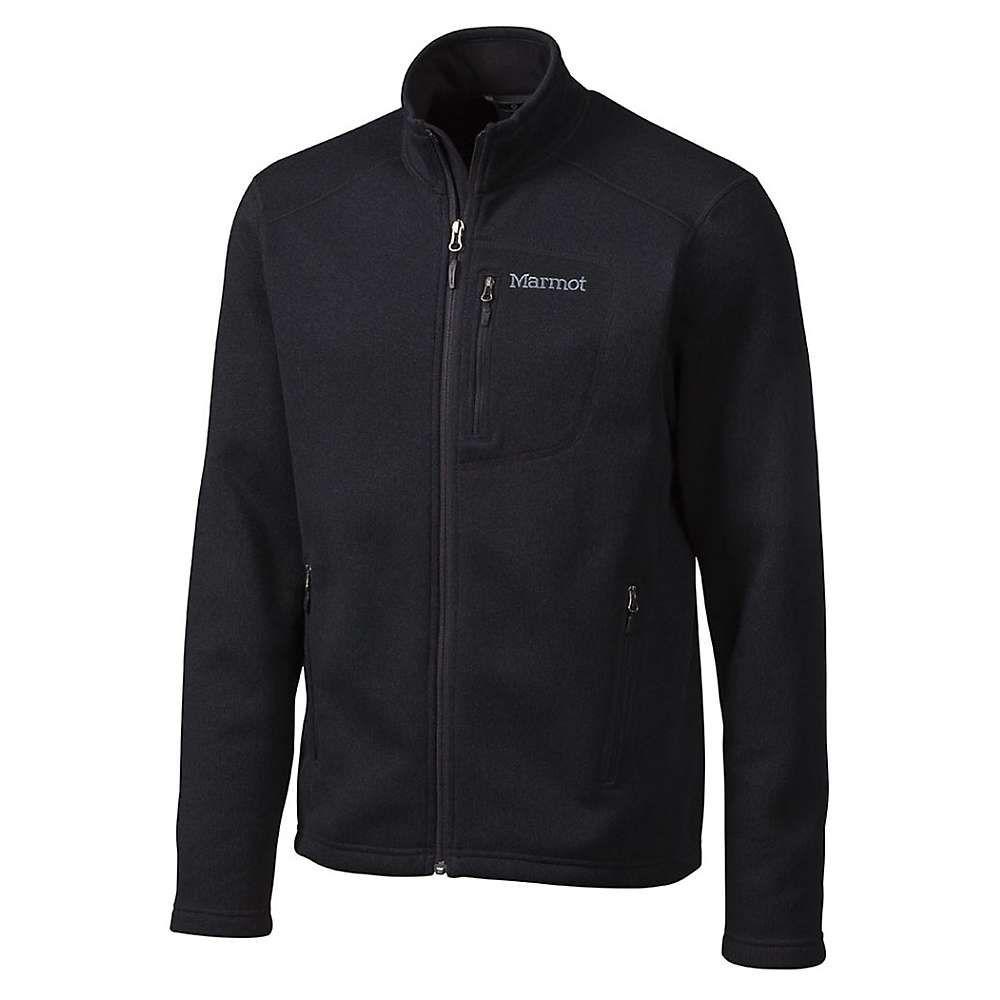 マーモット Marmot メンズ フリース トップス【drop line jacket】Black