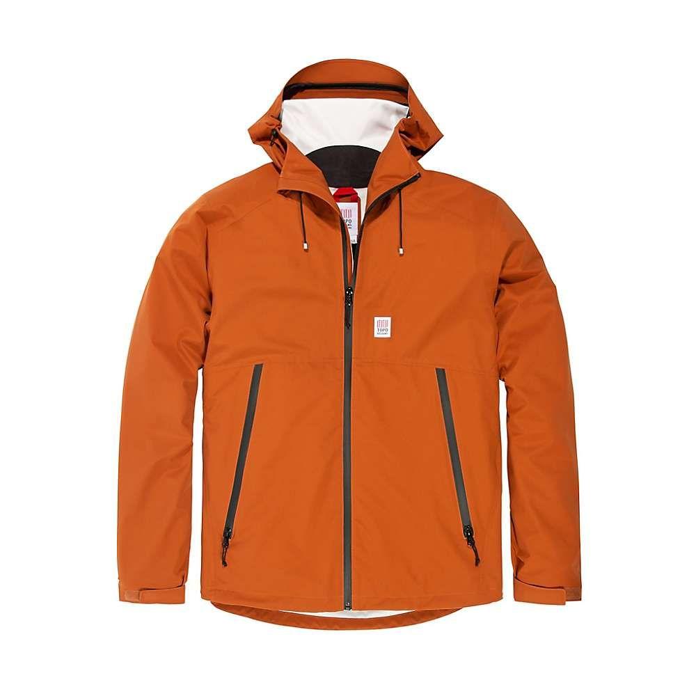 トポ デザイン Topo Designs メンズ レインコート アウター【global jacket】Clay F