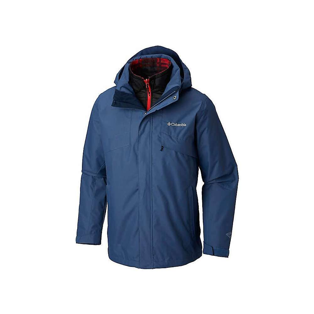コロンビア Columbia メンズ レインコート アウター【bugaboo ii fleece interchange jacket】Dark Mountain