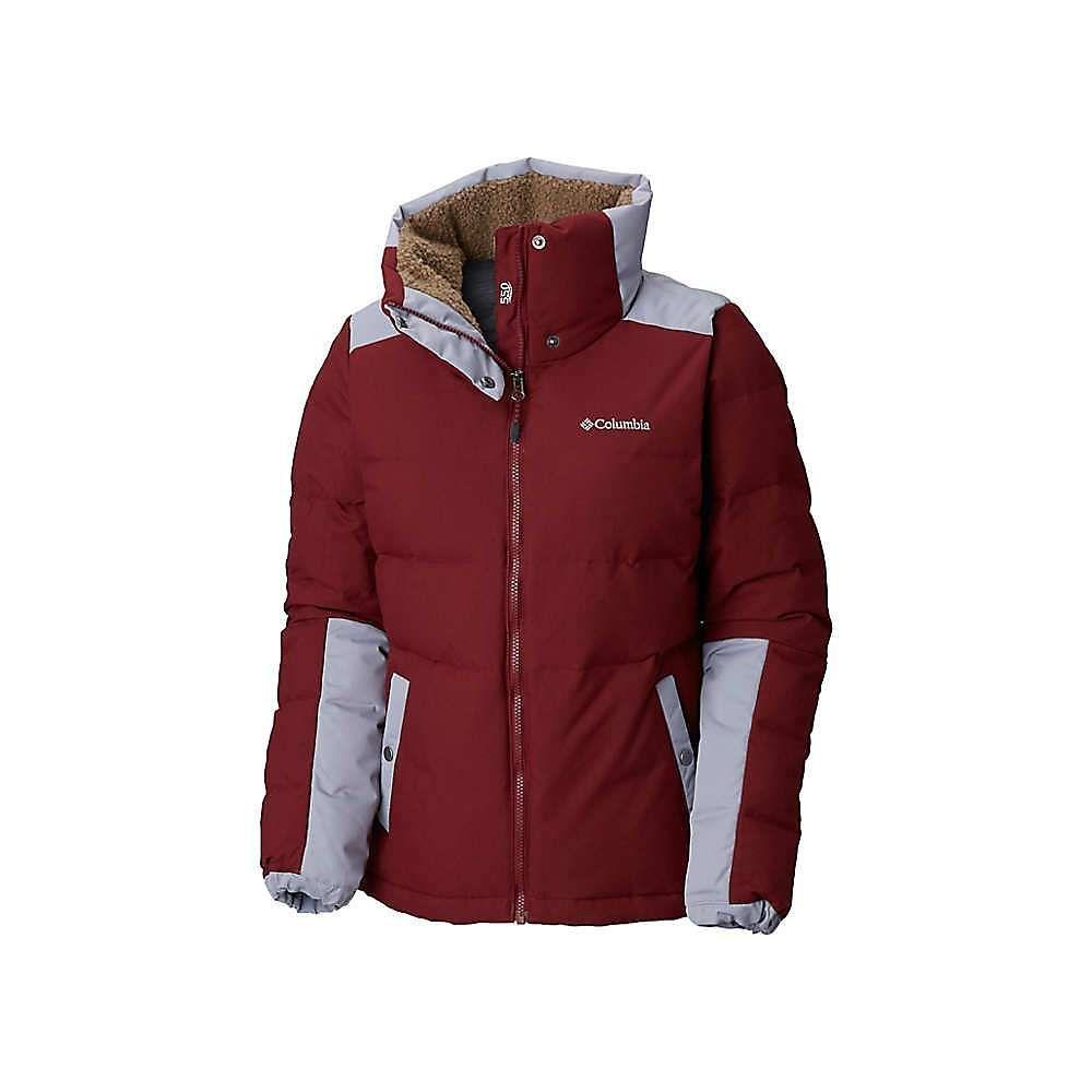コロンビア Columbia レディース ダウン・中綿ジャケット アウター【winter challenger jacket】Rich Wine/Astral