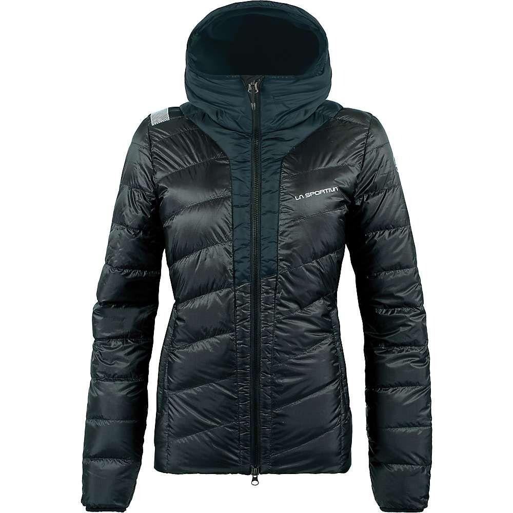 ラスポルティバ La Sportiva レディース ダウン・中綿ジャケット アウター【frequency down jacket】Black