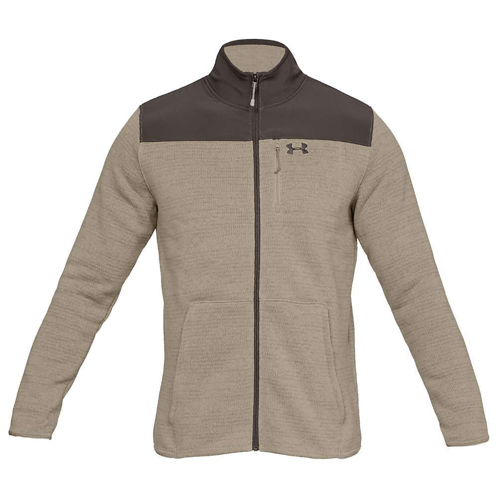 アンダーアーマー Under Armour メンズ スキー・スノーボード アウター【specialist full zip 2.0 top】City Khaki/Maverick Brown/Maverick Brown