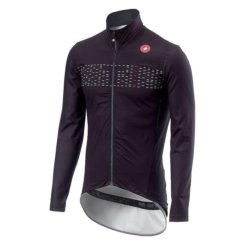 カステリ Castelli メンズ レインコート アウター【pro fit light rain jacket】Light Black