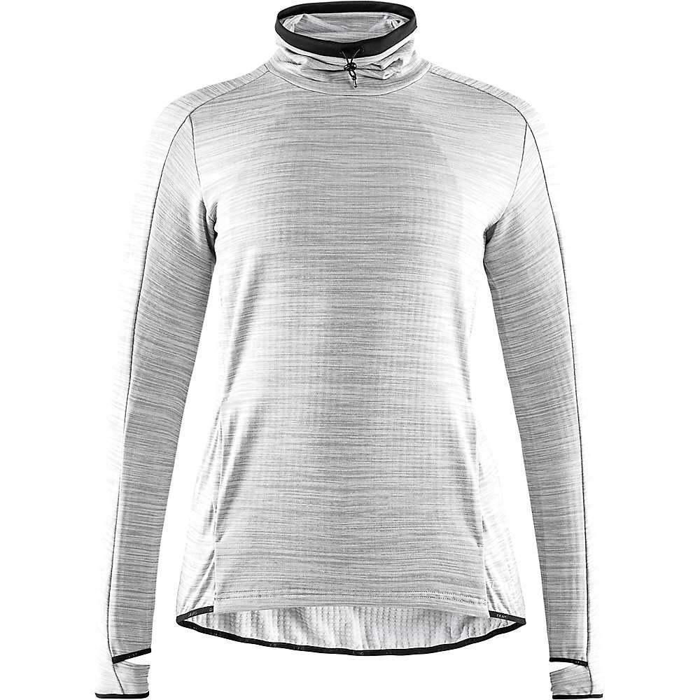 クラフト Craft Sportswear レディース フィットネス・トレーニング トップス【craft sweep grid turtleneck ls top】Grey Melange