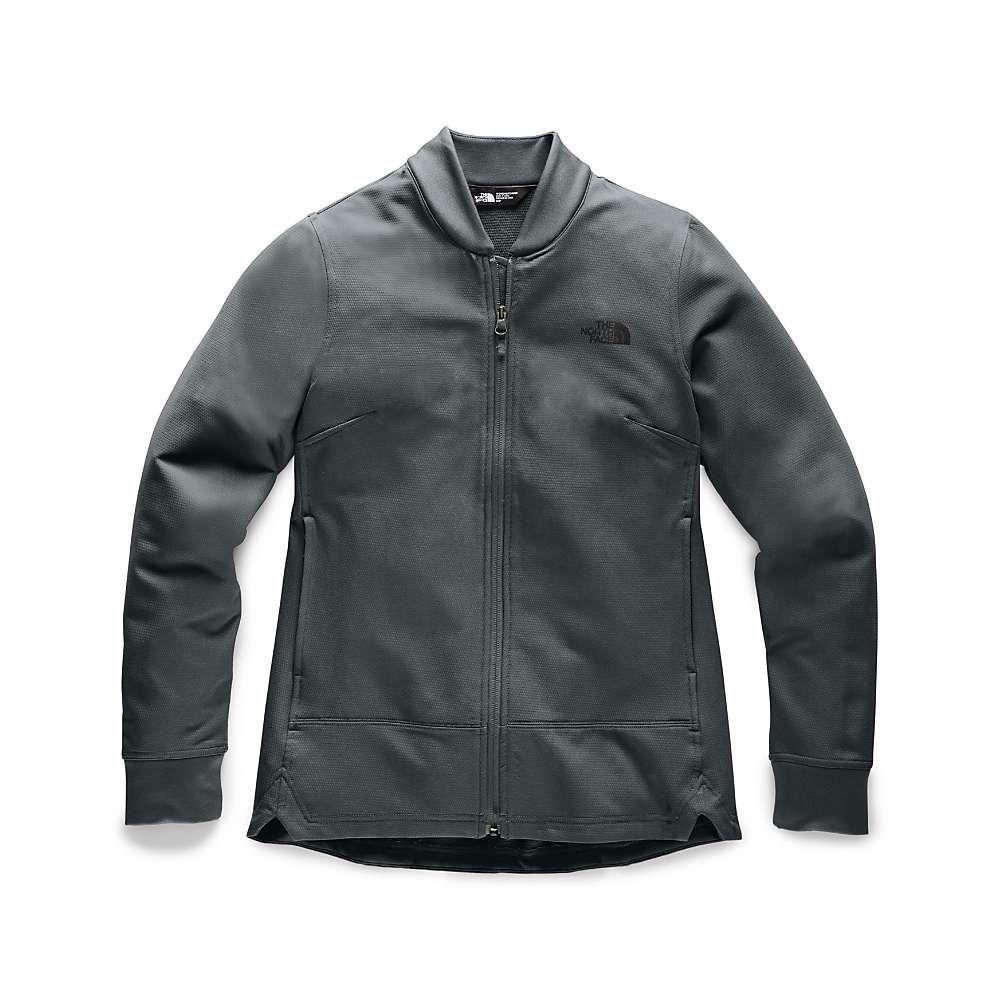 ザ ノースフェイス The North Face レディース フリース トップス【tekno ridge full zip jacket】Asphalt Grey/Asphalt Grey