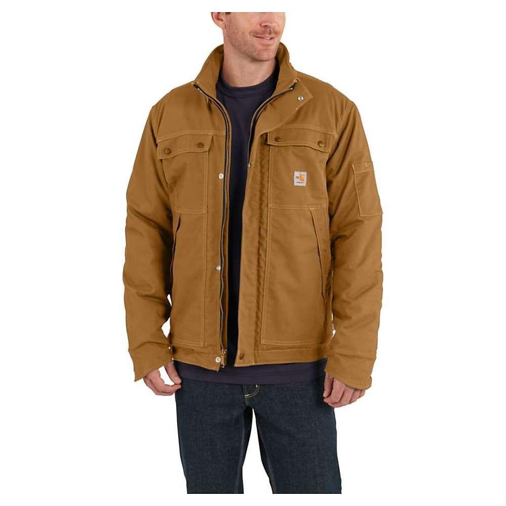 カーハート Carhartt メンズ コート アウター【flame resistant full swing quick duck coat】Carhartt Brown