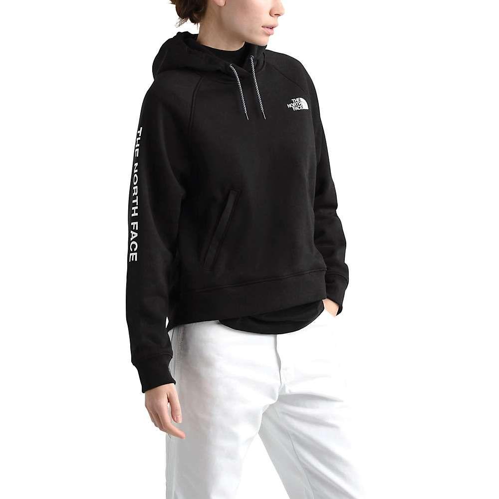 ザ ノースフェイス The North Face レディース フリース トップス【nse graphic pullover hoodie】TNF Black