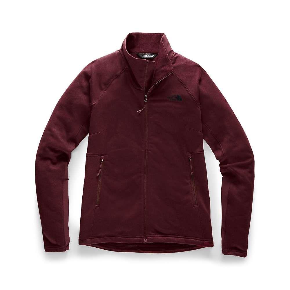 ザ ノースフェイス The North Face レディース フリース トップス【shastina stretch full zip jacket】Deep Garnet Red/Deep Garnet Red
