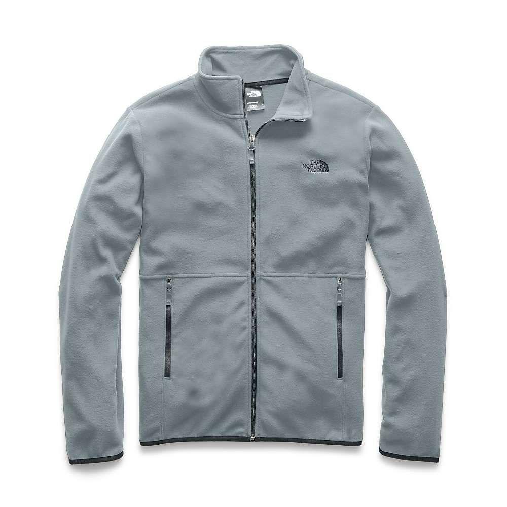 ザ ノースフェイス The North Face メンズ フリース トップス【tka glacier 1/4 zip top】Mid Grey/Mid Grey