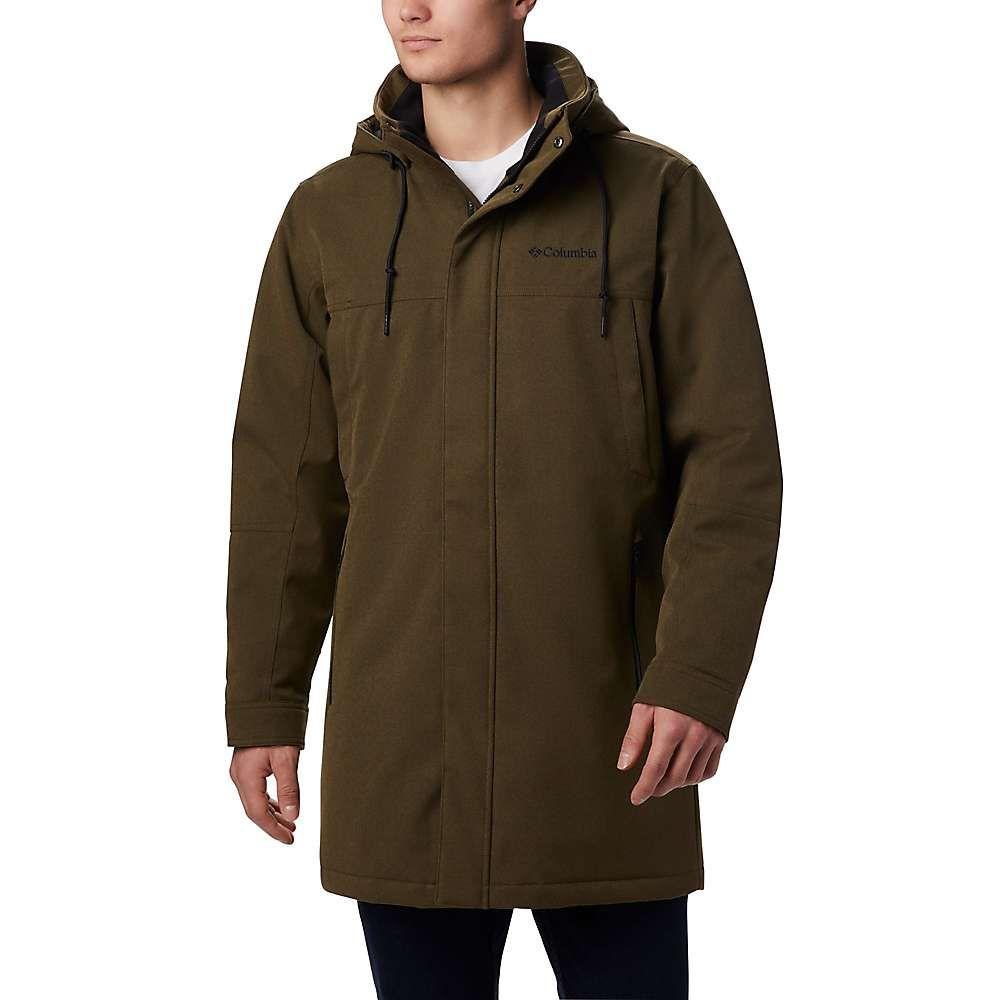 コロンビア Columbia メンズ ジャケット アウター【boundary bay long jacket】Olive Green Heather