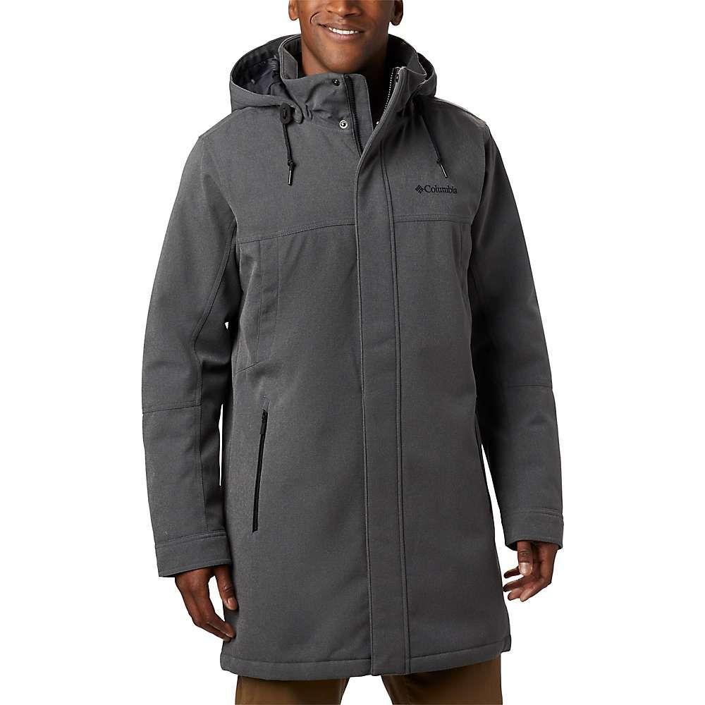 コロンビア Columbia メンズ ジャケット アウター【boundary bay long jacket】City Grey Heather