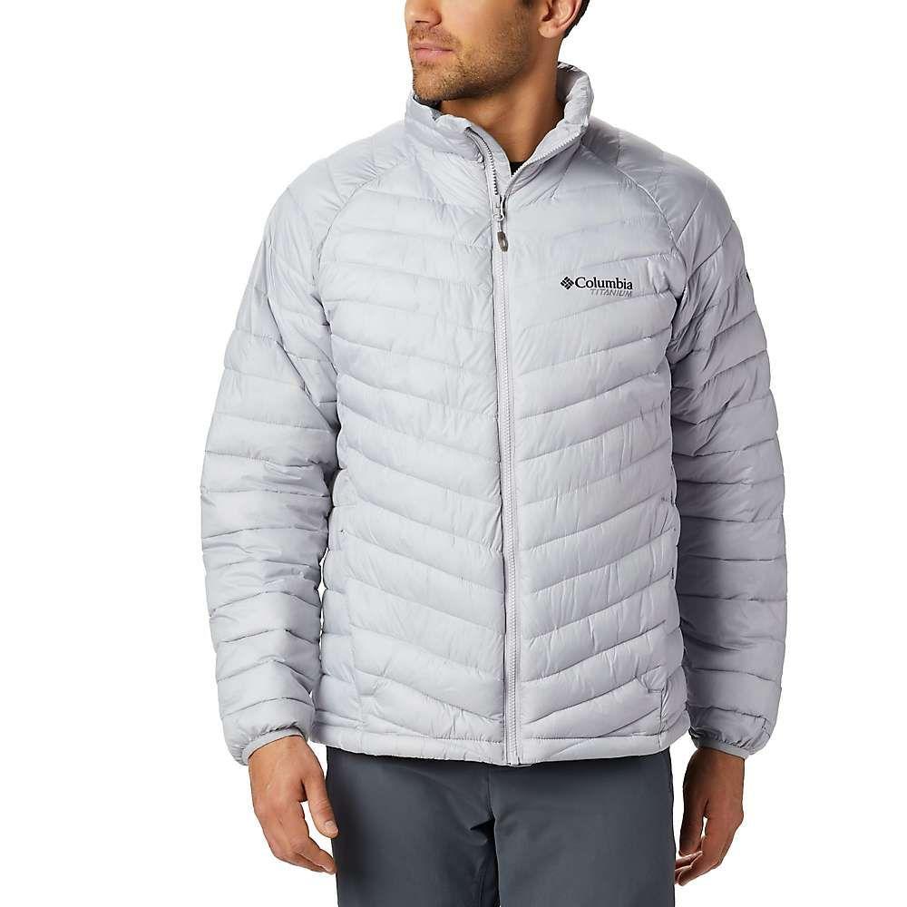 コロンビア Columbia メンズ ダウン・中綿ジャケット アウター【titanium snow country jacket】Slate Grey