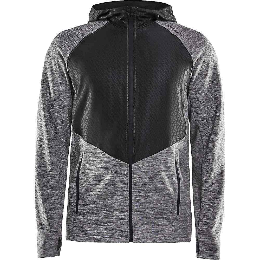 クラフト Craft Sportswear メンズ ジャケット アウター【craft charge full zip sweat hood】Dark Grey Melange/Black