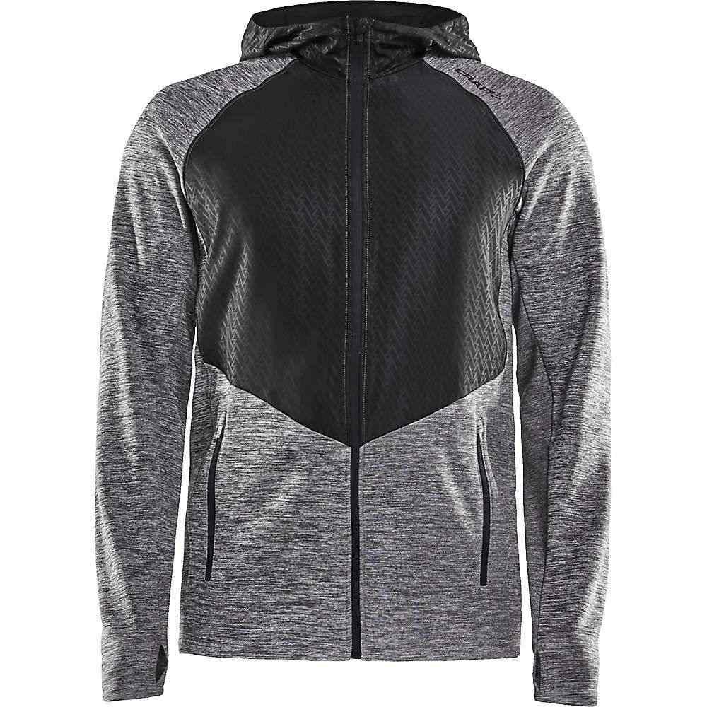 クラフト Craft Sportswear メンズ ジャケット アウター【craft charge full zip sweat hood】Dark Grey Melange/Black