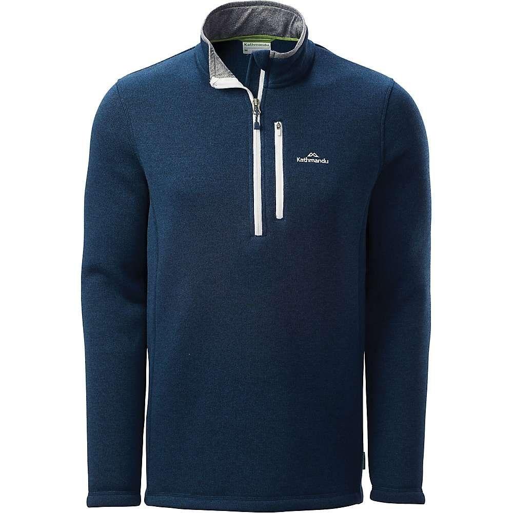 カトマンズ Kathmandu メンズ ジャケット アウター【aikman pullover】Dark Blue Marle
