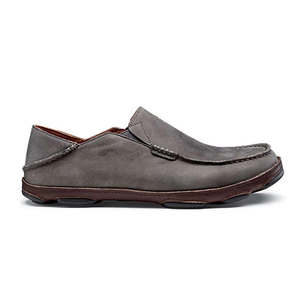 オルカイ OluKai メンズ シューズ・靴 【moloa shoe】Storm Grey/Dark Wood