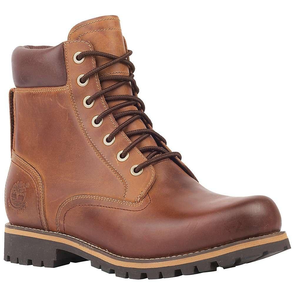ティンバーランド Timberland メンズ ブーツ シューズ・靴【rugged 6 inch waterproof boot】Medium Brown Full-Grain